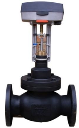 西门子电动调节阀图片