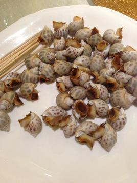 白灼海螺图片