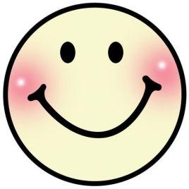 一个圆圈,两个点,再加上一条弧线,就是我们所熟悉的笑脸形象.图片