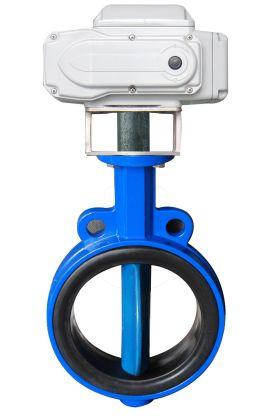 电动蝶阀属于电动阀门和电动调节阀中的一个品种.图片