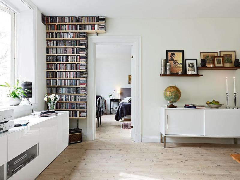 65米的北欧风格小户型书房装修效果图大全图片