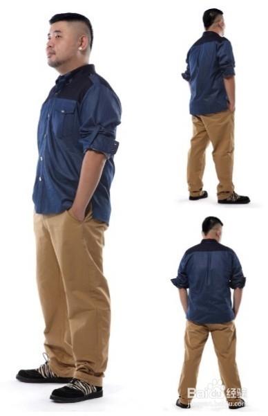 秋冬季微胖男士怎么穿衣选择什么样的衣显瘦图片