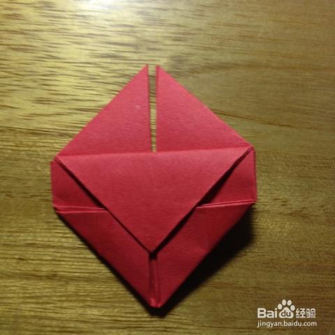 浪漫情书——彩色信纸爱心的折法图片
