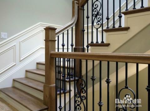 铁艺楼梯扶手安装的几个步骤图片