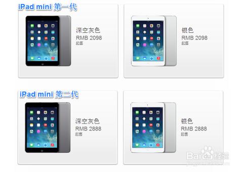 iPad mini1和2的区别