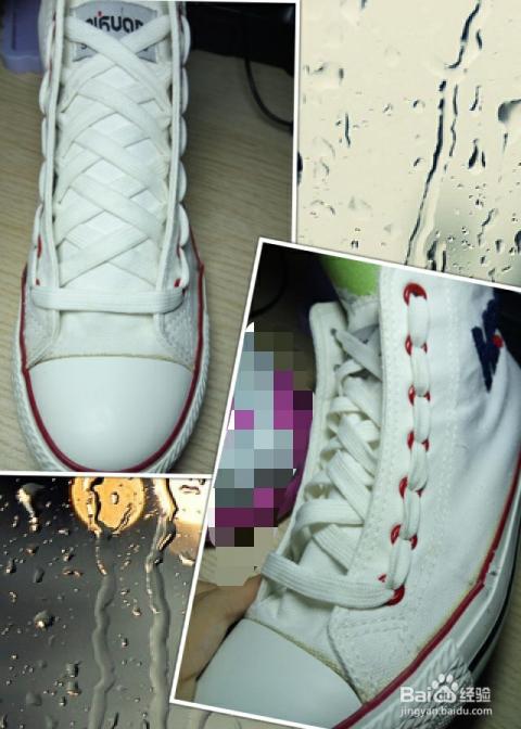 花式鞋带之内部x结图片