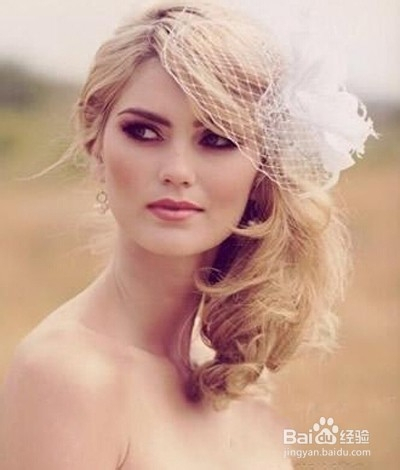 创意新娘妆之春暖花开好意头图片
