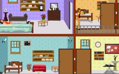 3/12   3:下2层楼,进入左面第一个房间,拿牛奶杯.