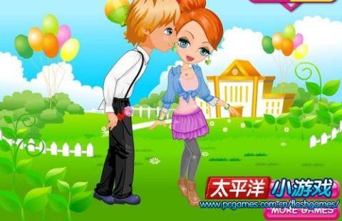 怎样玩偷吻女孩 小游戏