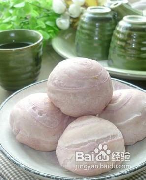 中式茶点-紫薯酥图片