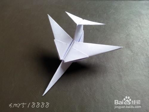 怎样折立体纸飞机