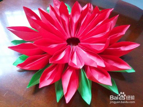 莲花盆怎么折叠图片