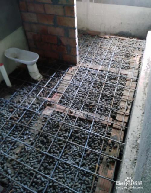 下沉式卫生间怎么做回填图片