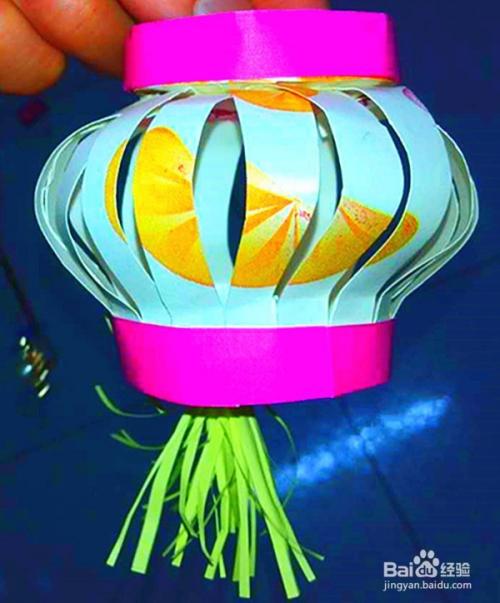 手工灯笼的简单制作方法