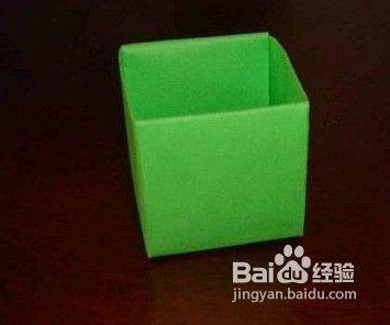 纸如何折成简单纸盒