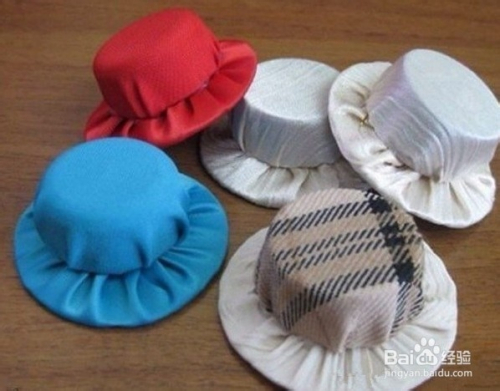 创意瓶盖制作小帽子图片