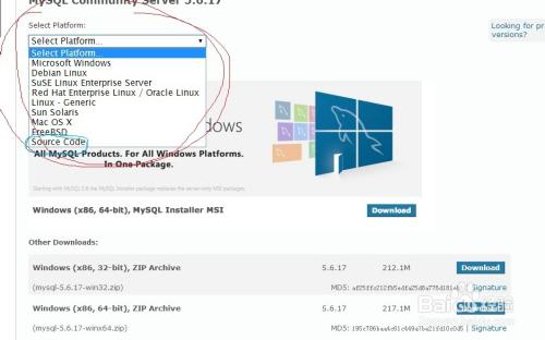 MySQL下载安装、配置与使用(win7x64)