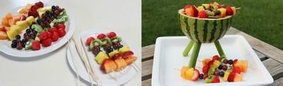 夏天怎么做美味水果拼盘大餐图片