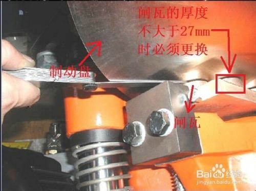 认识风机高速轴制动器以及对其维护的注意事项图片