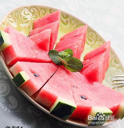 5种西瓜果盘切法图片