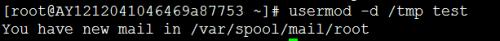 Linux下如何修改用户默认目录