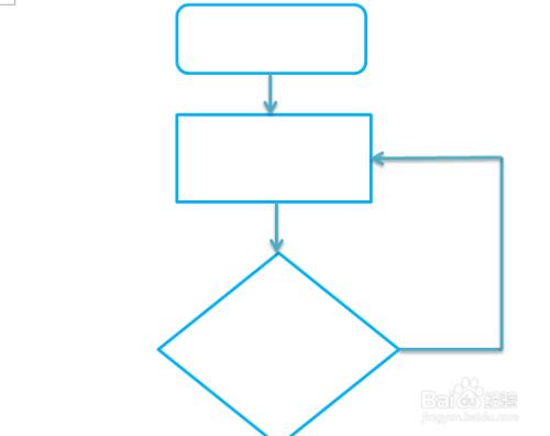 使用word或ppt制作流程图图片