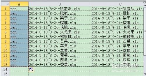 使用Excel、Bat文件实现批量重命名功能 - 小东 - 15
