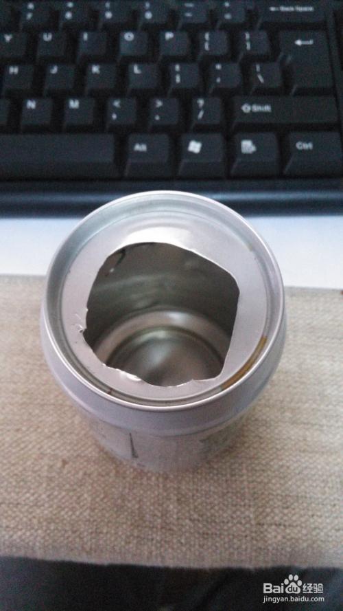 如何/怎么用易拉罐制作烟灰缸图片