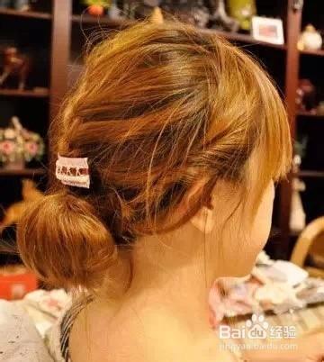 女孩子的长头发怎么扎好看图片