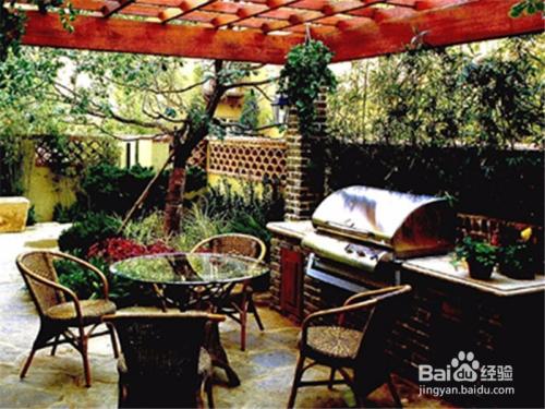 100平米的庭院怎样设计图片