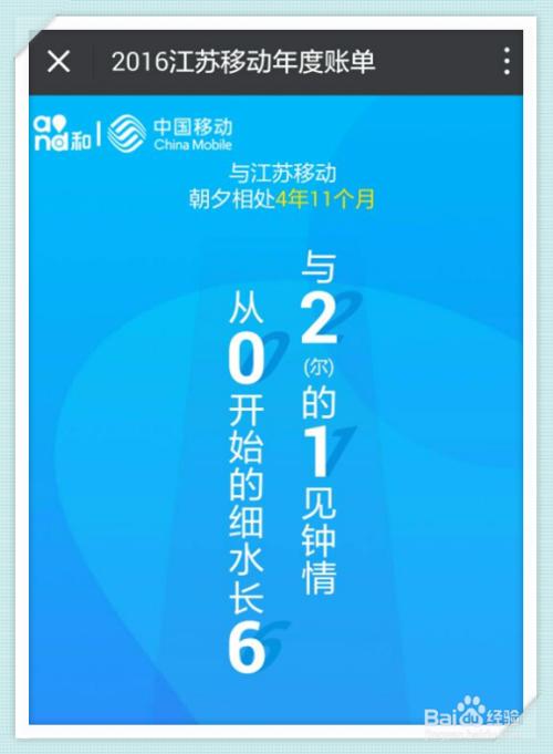 游戏/数码 手机 > 手机周边  3 接着在2016江苏移动账单页面,点击
