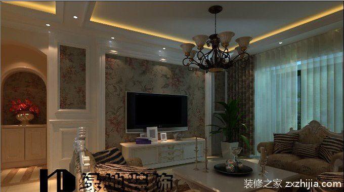 欧式客厅电视背景墙装饰_装修之家装修效果图图片