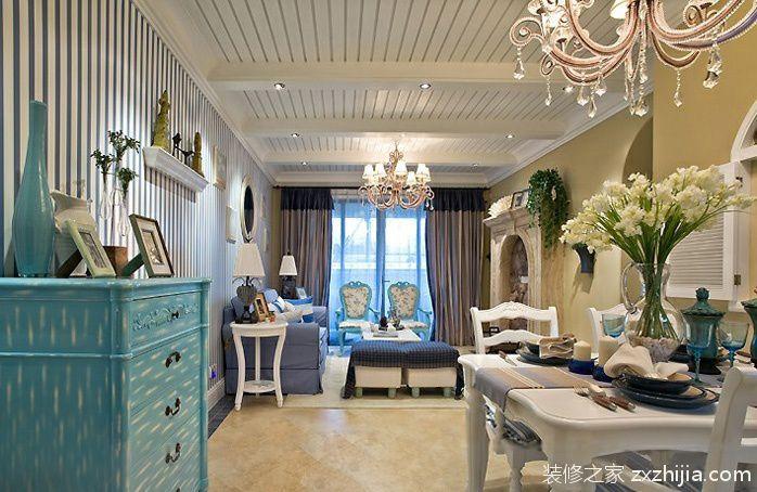 现代语汇叙写大户风范四室两厅欧式餐厅美图_装修之家装修效果图图片