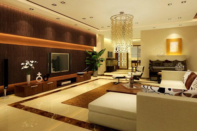 142平3室2厅中式混搭书房装修效果图_设计案例_太平洋家居网高清图库图片