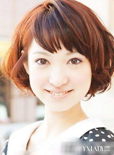 大圆脸适合的波波头发型最新女生短发波波头图片