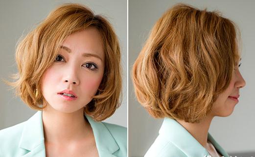 胖脸女生适合的发型 推荐刘海短发超显瘦图片
