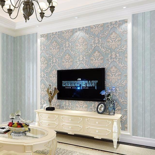 电视背景墙就要这么弄,看上去也很有档次.装饰上就很有面子图片