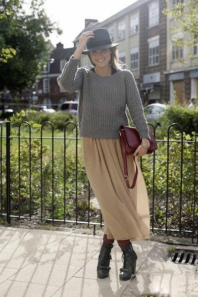 2013最新欧美街拍 时尚穿衣搭配引领春季潮流图片