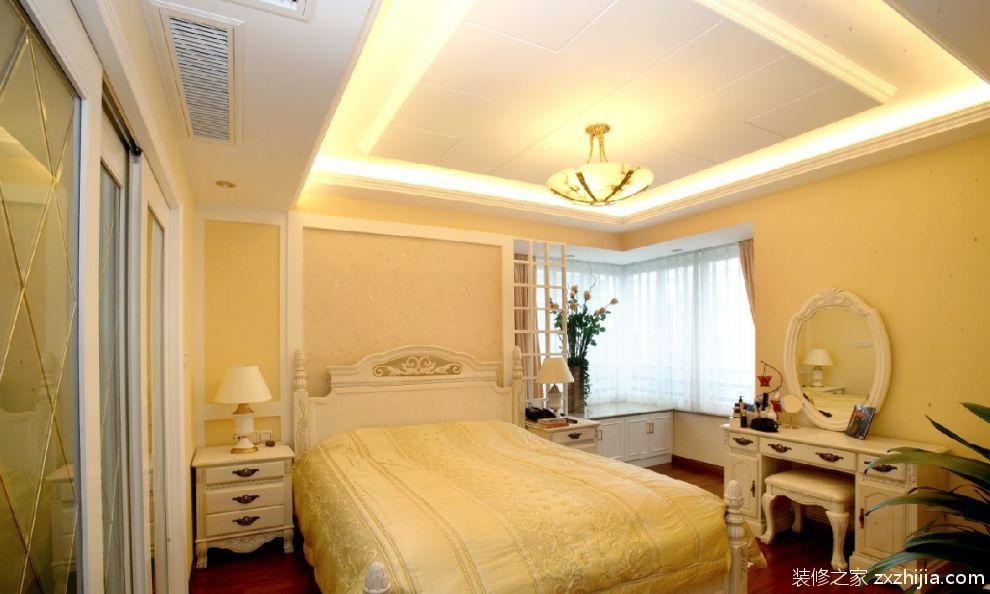 欧式卧室电视背景墙装修效果图欣赏_装修之家装修效果图图片