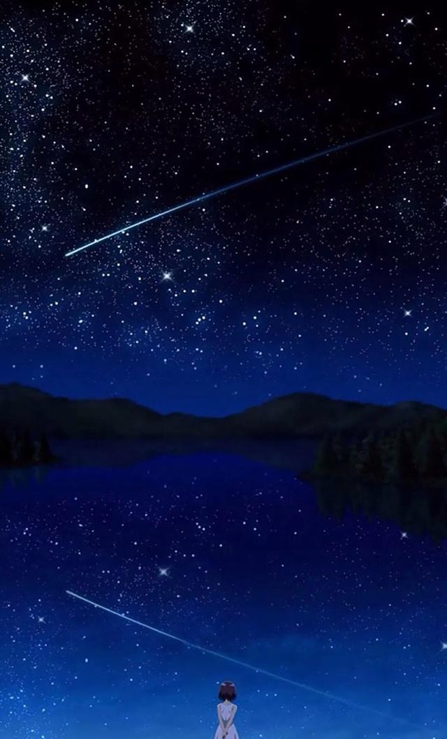 ios 11高清壁纸 星河宇宙|璀璨星空图片