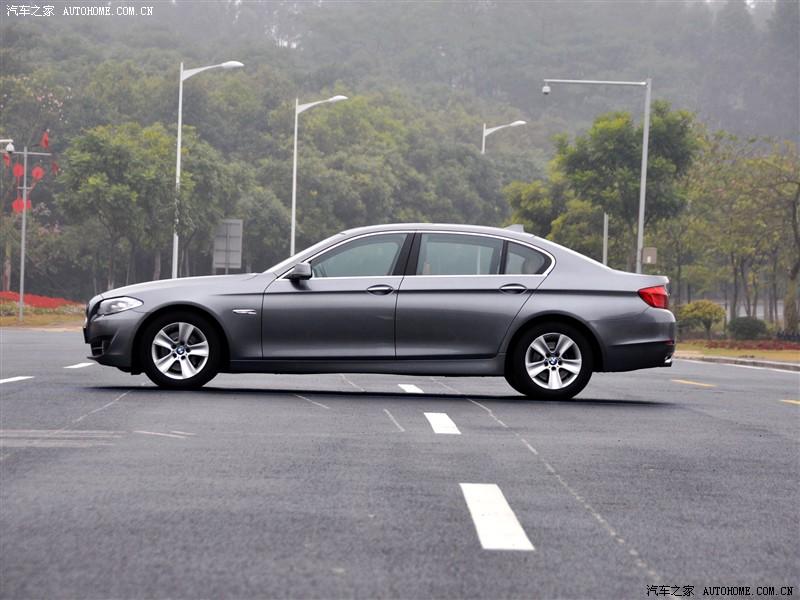 宝马 宝马5系 2011款 528li 豪华型 太空灰 车身外观_宝马 宝马5系图片