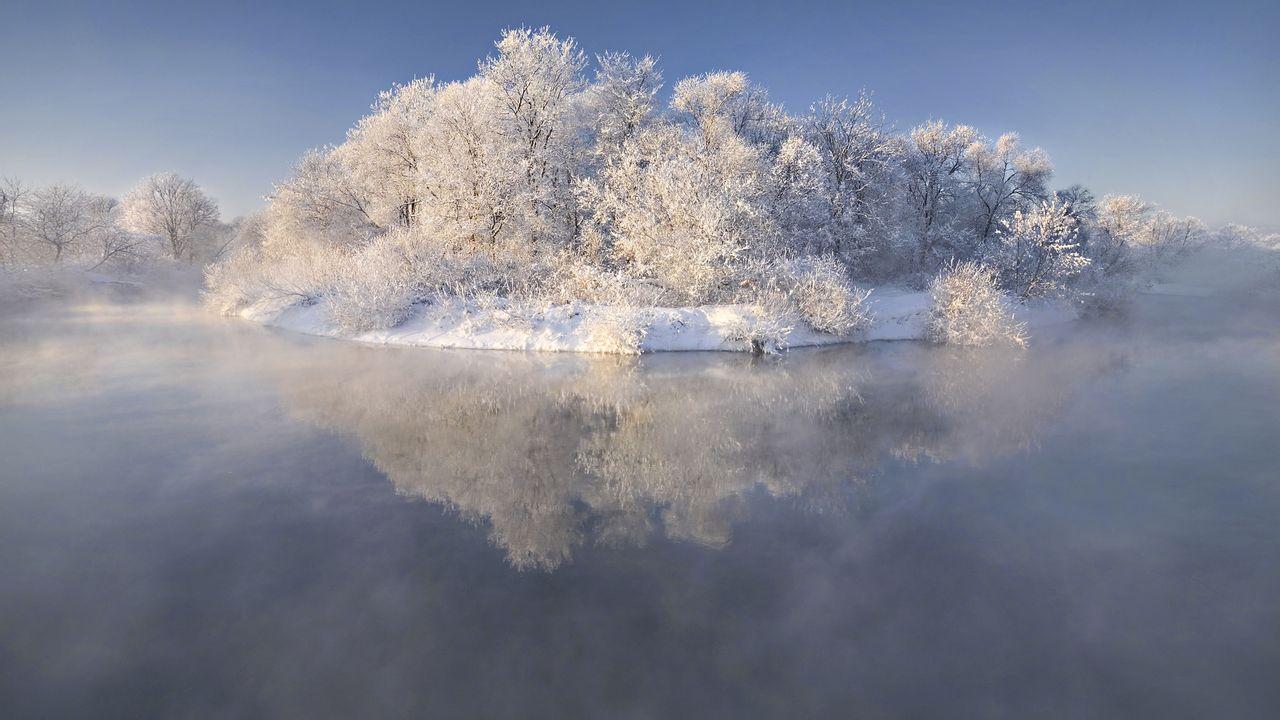 15最美大自然雪景图片合集高清电脑桌面壁纸下载第一辑,这图片