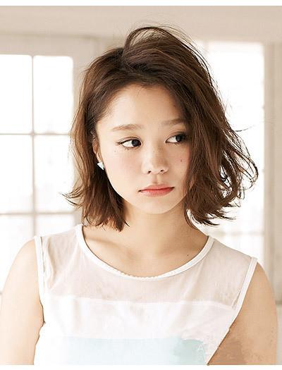 圆脸适合的波波头短发发型 轻松塑造女生完美小脸图片图片