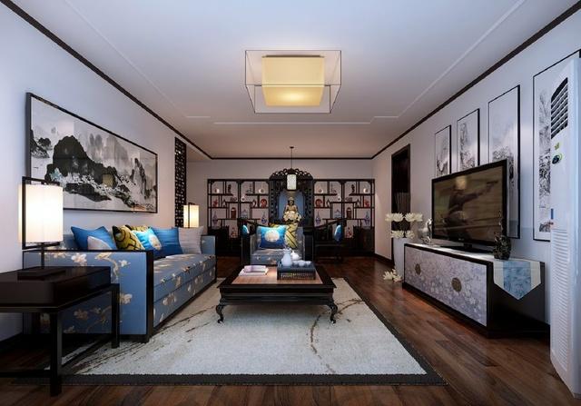 装修室内装修效果图中式古典,装修出不一样的人土风情图片
