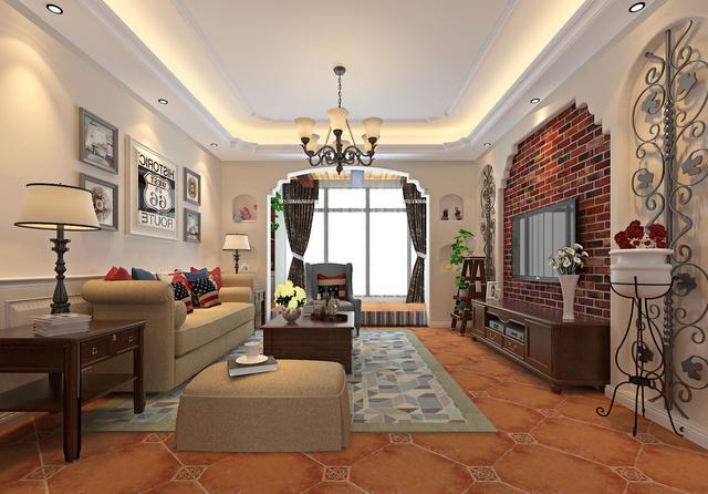 几大装修风格客厅区域案例实景图,看看你家更加适合哪种图片