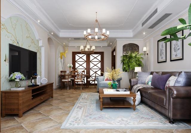 重庆168平米简美三居室效果图,三代同堂的幸福拾光图片