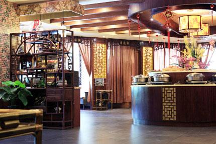 江南茶人,茶馆的建筑风格充分体现了江南风情,突出江南茶人的清雅韵味图片