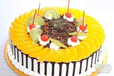 寿桃蛋糕-唐山10寸奶油水果蛋糕,节假日通用团购 百度蛋糕团购大全