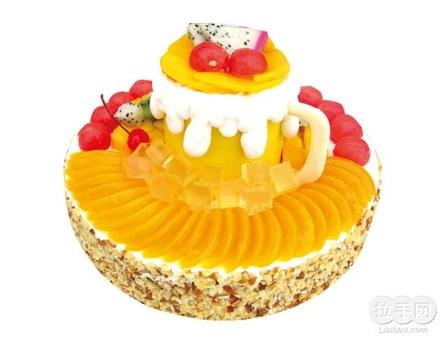 欧式高档蛋糕图片