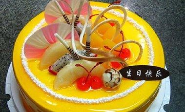 冰激凌 水果蛋糕
